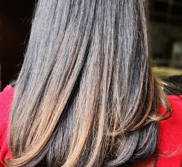 Balayage by Kapnah, a popular English-speaking hairdresser in the Hague